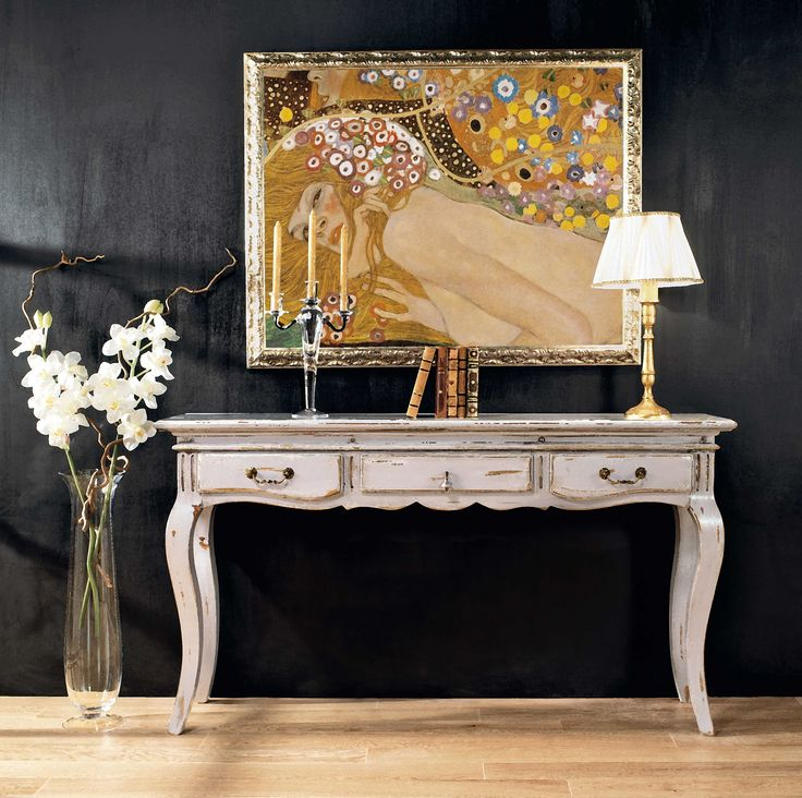PR601 Consolle |  Provenzale Console with drawers Finitura Arles - Arles Finishing - L/W 130 P/D 40 H 85