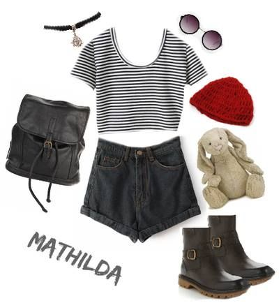 I just watched Leon the professional, and i felt super inspired by what Mathilda wore. I'm hoping to form some kinda cute outfit like this when i'm back home in Copenhagen!