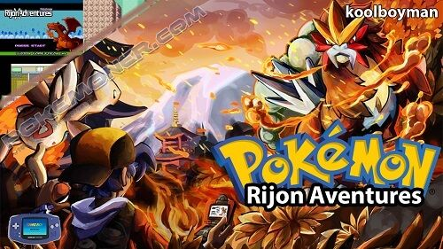 Pokemon Rijon Adventures X
