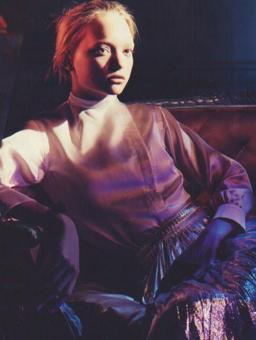 bienenkiste: Джемма Уорд David Sims для Jil Sander Fall 2004