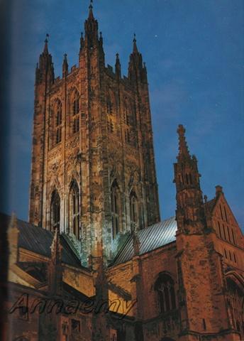 La Cattedrale di Canterbury-Inghilterra