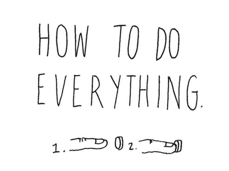 Howto do everything #howto