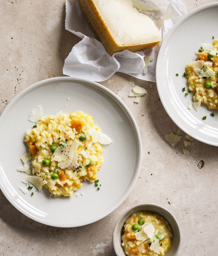 Recipes | Pumpkin Pea Risotto | Louise Fulton Keats