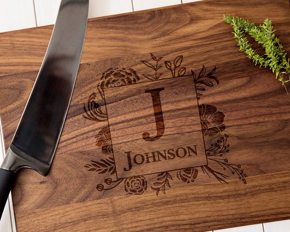 Couple cutting board housewarming gift wedding gift anniversary gift personalized cutting board custom cutting board cheese board 006