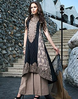Embroidered Cotton Collection for Eid 2014 by Z.S Textiles.