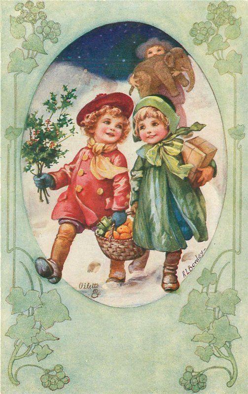 Albert Allick Bowlly. Рождественские открытки. Обсуждение на LiveInternet - Российский Сервис Онлайн-Дневников