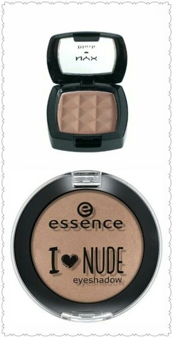 Hyped Nyx taupe blush dupe - Essence I love nudes trend edition eyeshadow in my favourite tauping (perfect for contouring / contour (cool toned))  beauty on budget