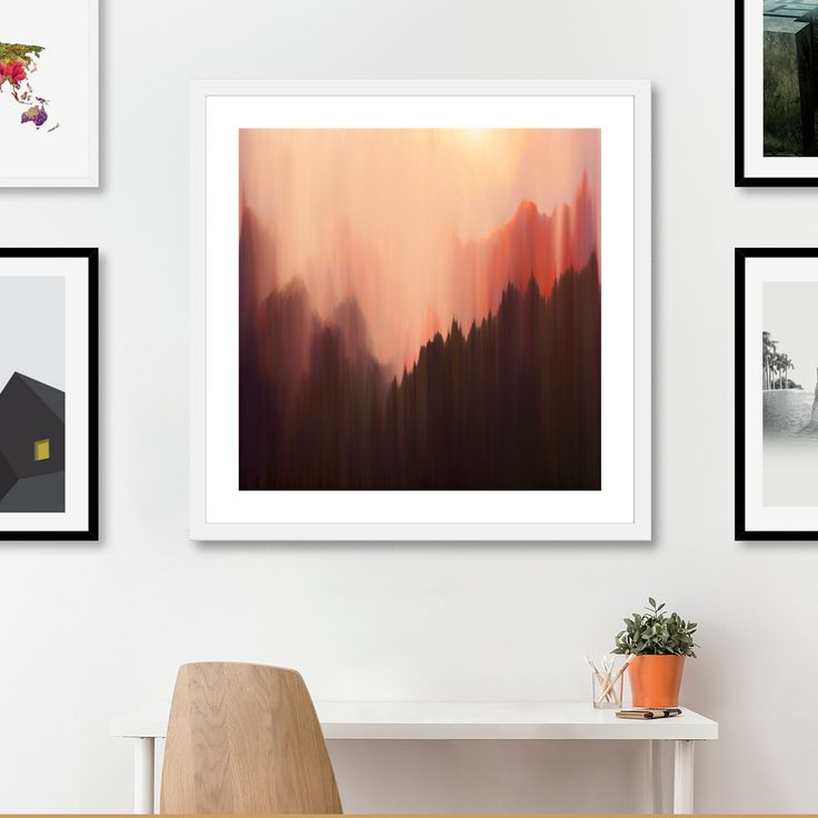 «Afternoon Sun», Numbered Edition Fine Art Print by Okti W. - From $20 - Curioos