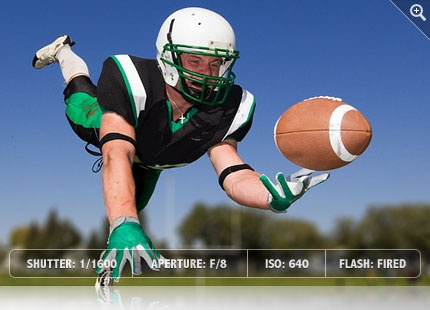Football Photography Hints - Exposure Settings