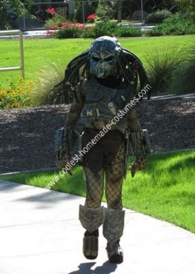 Predator Halloween Costume For Kids