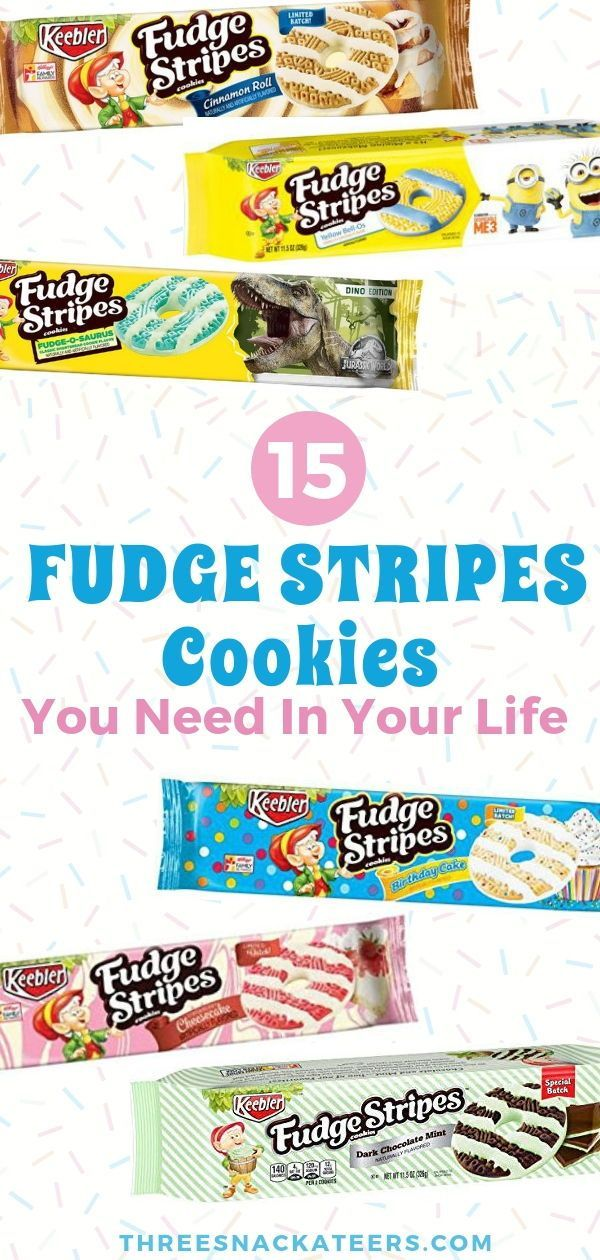 Did You Know Keebler Fudge Stripes Cookies Come In So Many Flavors Are A Delicious Snack Straight From The Package And All Of These Different
