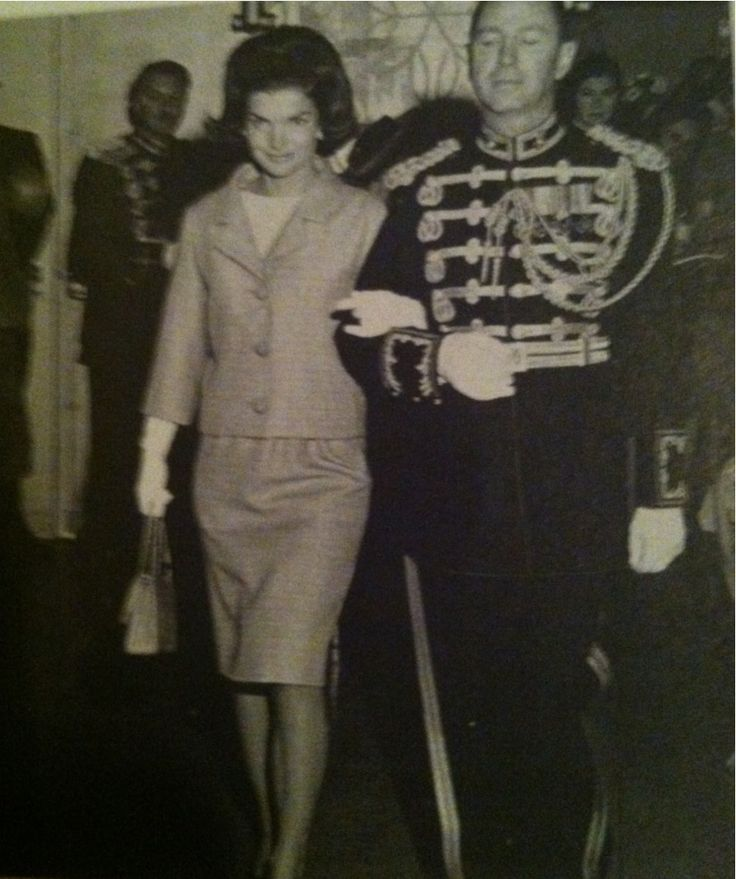 Jackie Kennedy hated having every aspect of being examined, photographed, and analyzed by the public. On top of this, she was naturally shy. She is seen here being escorted into one of her least favorite First Lady activities, the annual...