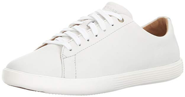 Cole haan women, White leather sneakers