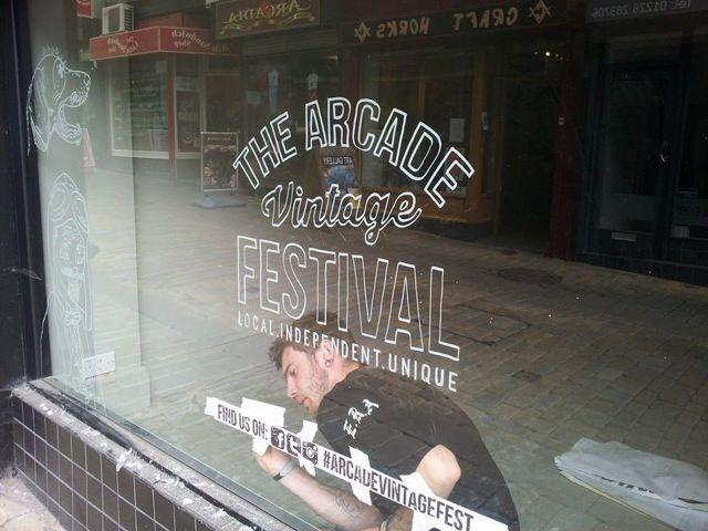Arcade vintage festival no.1