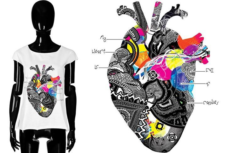 LOOK INTO YOUR HEART!   Designer #LimitedEdition #WomenAccessories #LuxuryLeatherGoods #HandMade #LeatherBags & #Handbags #Belts #Tshirts #Wallets #Bracelets #NotebookCovers and more  http://coloursofmylife.co.uk/