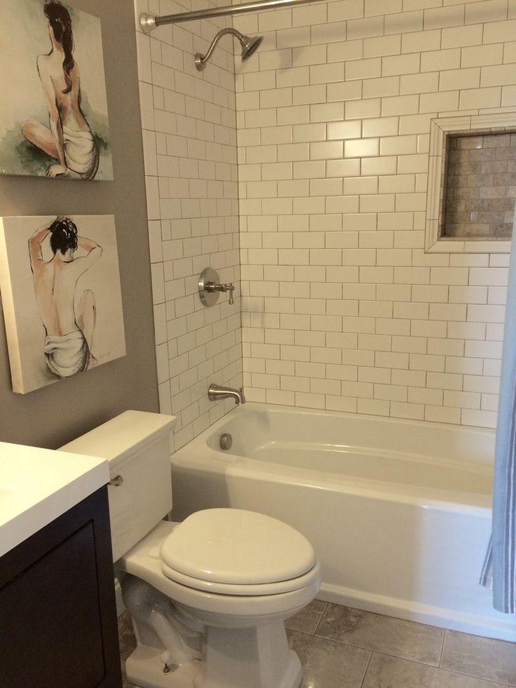 Ideas About Subway Tile Bathrooms On Pinterest White Subway Tile