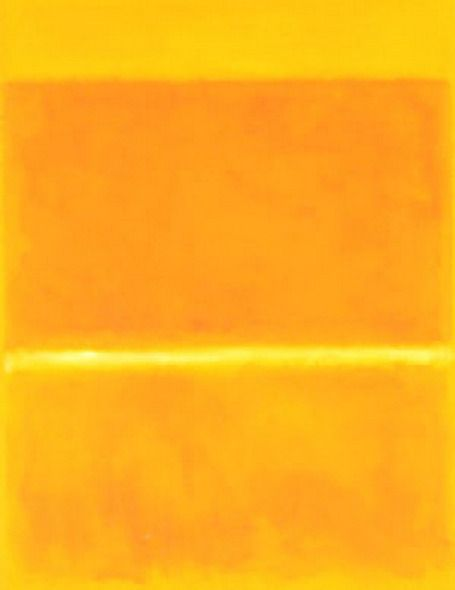 373 best abstract art images on pinterest mark rothko for Saffron yellow paint color