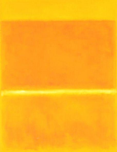 Mark Rothko, Saffron, 1957