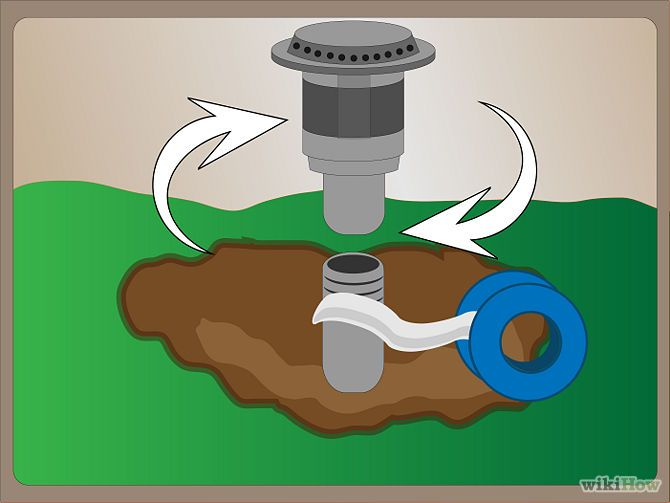 How to replace sprinkler heads