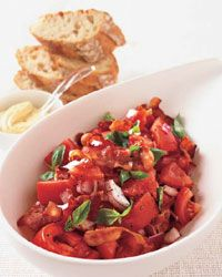 Bacon Tomato Salad: Side Dishes, Bacon Tomatoes, Tomatoes Salad Recipes, Food Amp, Summer Heirloom Bacon, Drinks Recipes, Healthy Food, Food Wine, Food Drinks