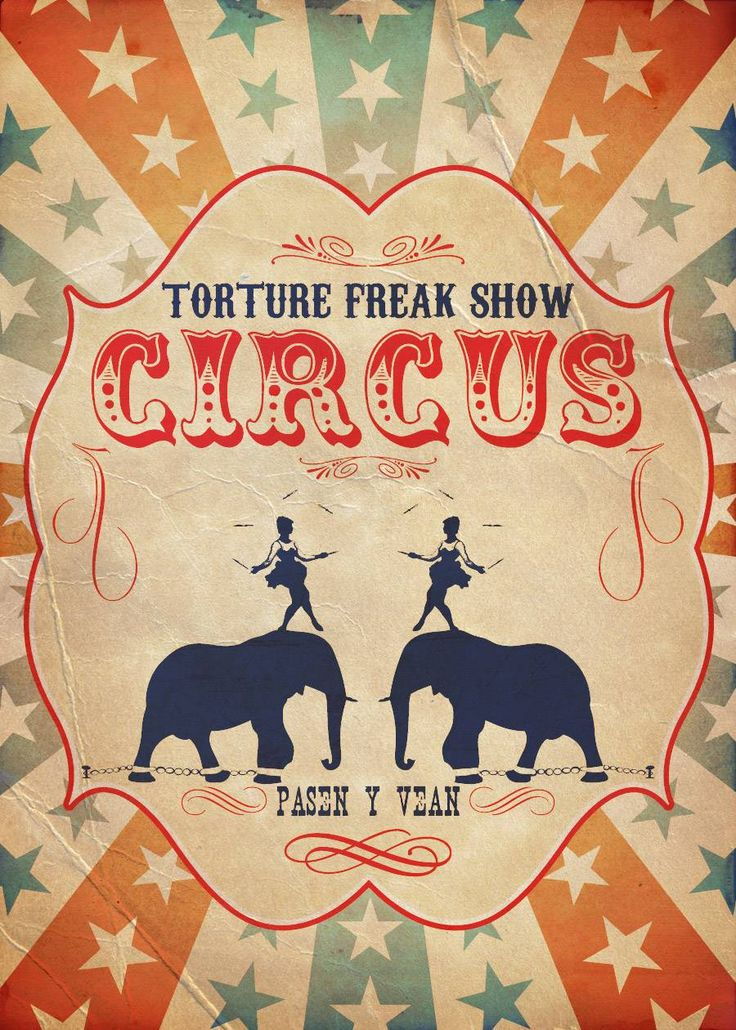 Circus Poster                                                       …