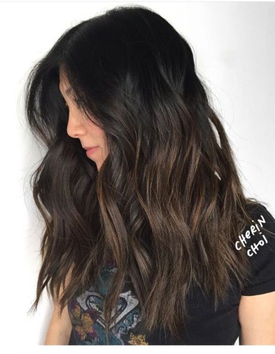 Black Hair With Subtle Highlights Find Your Perfect Hair Style