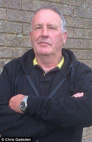 Farmer Chris Gadsden, 60, has been dubbed 'The Farminator' after rounding up