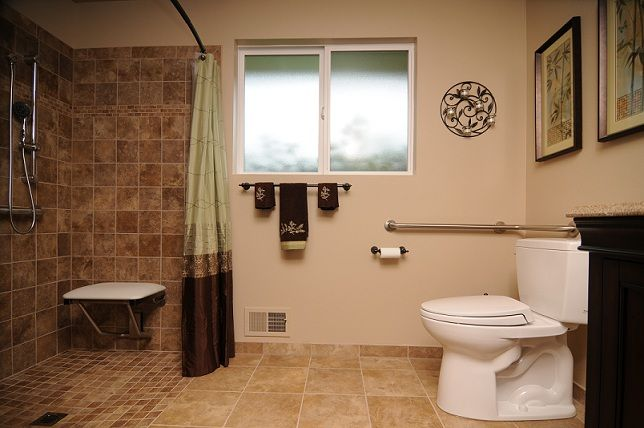 Best 25 handicap bathroom ideas on pinterest ada bathroom wheelchair accessible shower and - Handicap accessible bathroom design ideas ...