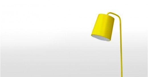 Dana Floor Lamp, Yellow - Floor Lamps - Lighting - VOLO Design