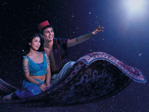"""Tom Rodriguez and K-La Rivera headline the new stage musical """"Aladdin."""" Tom Rodriguez is big surprise in 'Aladdin', according to reviewer Vladimir Bunoan."""