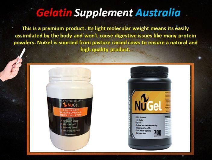 Gelatin Supplement Australia - Nugel-500g