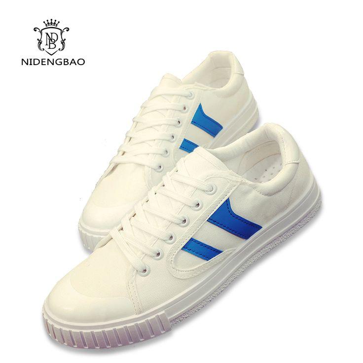 >> Click to Buy << 2017 New Mens Casual Shoes Man Flats Breathable Mens fashion Classic Shoes Mens Canvas Shoes for Men Student Zapatos de hombre #Affiliate