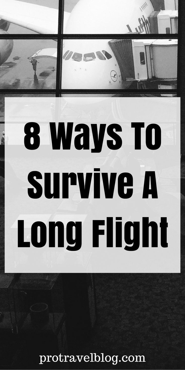 Don't suffer through long haul flights! Here are 8 proven ways to make time pass by extremely fast!