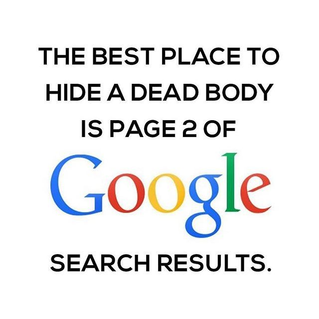 I like this. If you ever get buried in page 2 or deeper do this: #websites #web #google #pagerank #seo