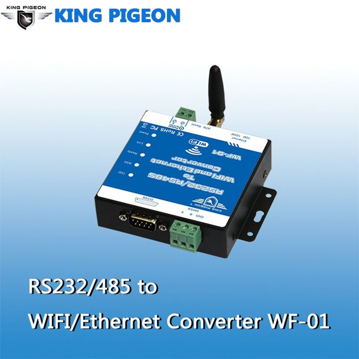 65.00$  Know more - http://aivwv.worlditems.win/all/product.php?id=32800751206 - RS232/RS485 to WIFI /Ethernet Converter Wireless Networking Router Date Transparent Transimission Webpage Configuration WF-01