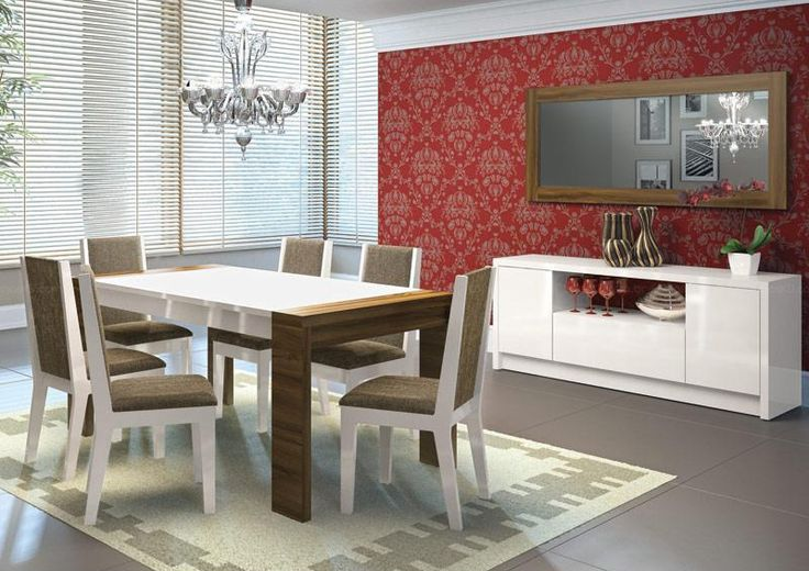 Sala De Jantar Simples ~ Decorações simples para salas de jantar  Ideias para a casa que eu