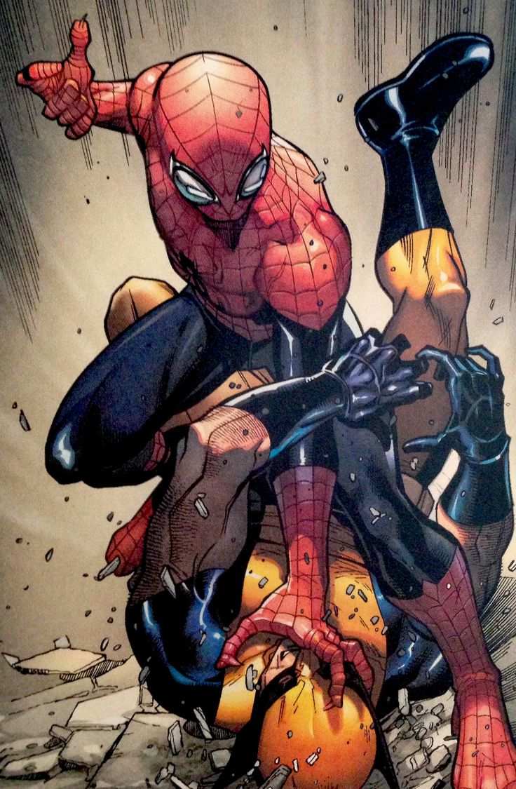 The Superior Spider-Man Takes Down Wolverine - Paco Medina | HW