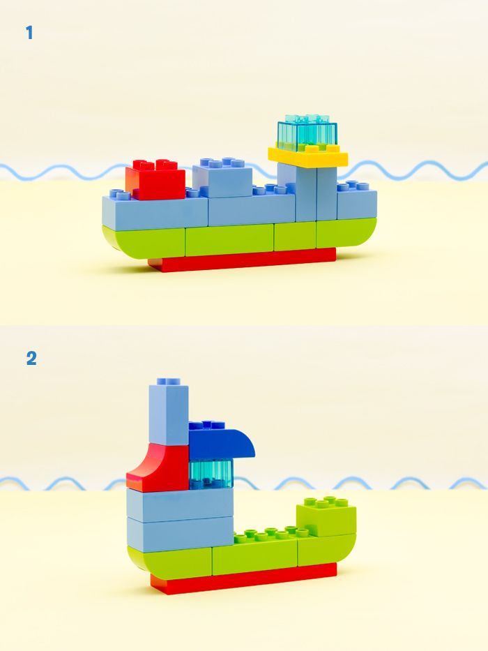 LEGO family on the go BOATS
