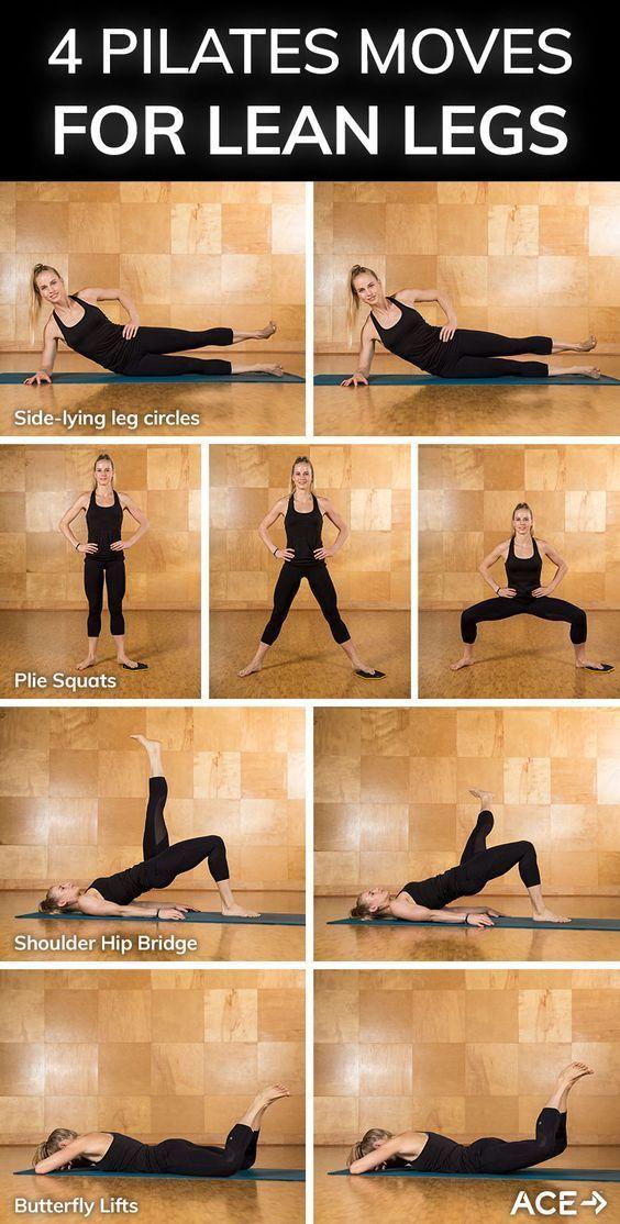 Vier Pilates-Moves für schlanke Beine