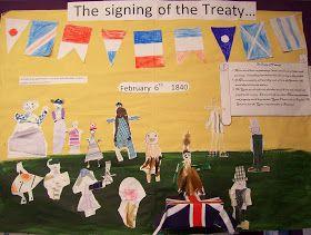Room 2 at Lee Stream School: Treaty of Waitangi