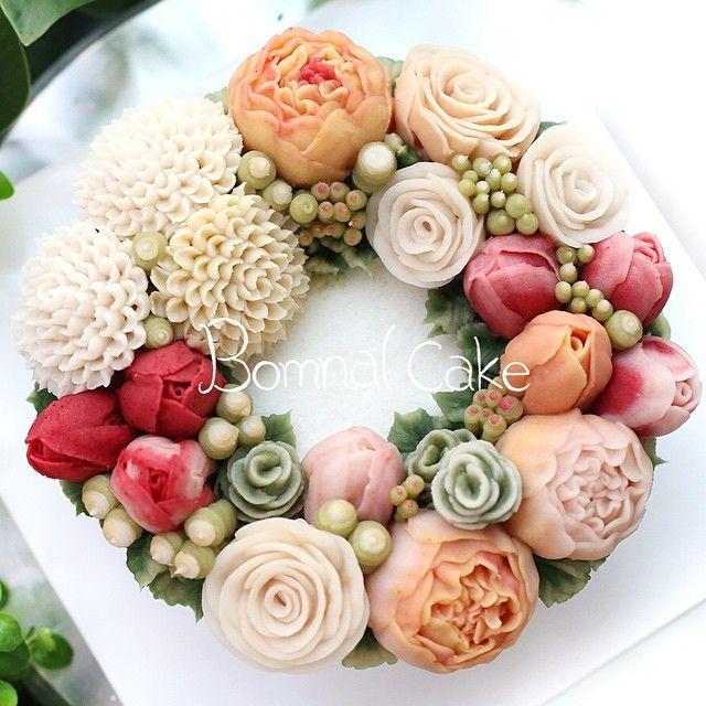 #Bomnalcake 꽃피는봄날 케이크…