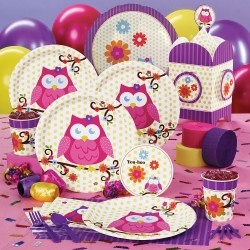 Owl party supplies...