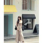 Jual Dress Korea Maxi Coksu Mat Spandek Paling Murah di Jakarta