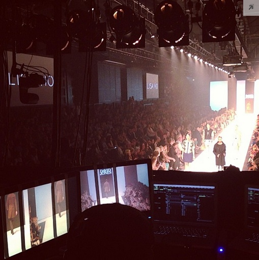 View from the tech desk #behindthescenes #lmffnow #lisaho @David Jones Store