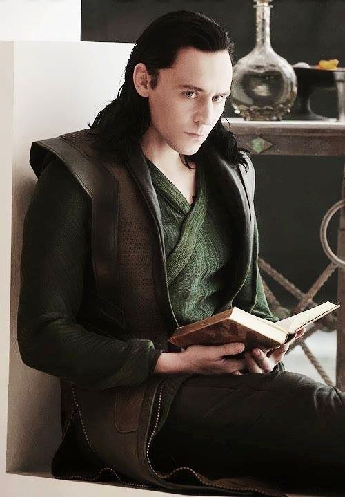Tom Hiddleson or Loki. Either one can come find me, please & thank you.