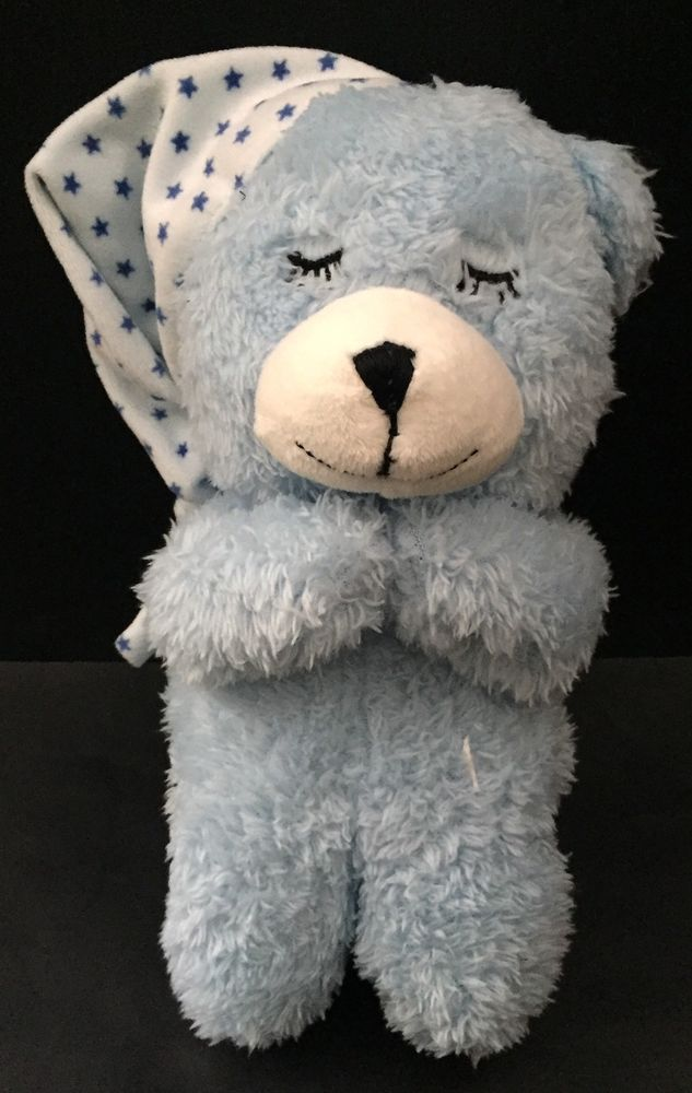 Homerbest Kneeling Prayer Teddy Bear Plush Lovey Stuffed Animal