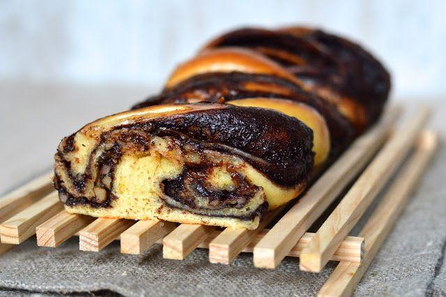 "Tasty Life: Čokoládový ""krantz"" s vlašskými ořechy"