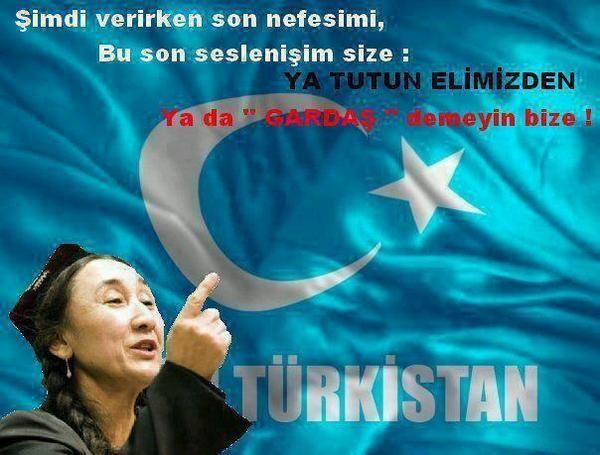 #DoğuTürkistan DoğuTürkistanda KanayanYaramızVar