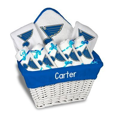 9 best st louis blues baby gifts images on pinterest baby gifts our personalized st louis blues large gift basket is a perfect baby gift with 5 negle Gallery