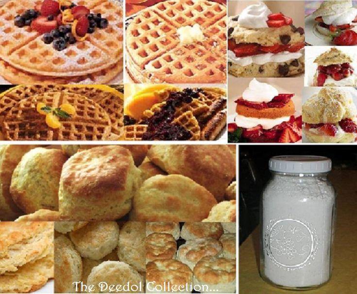 Homemade Waffle, Shortcake and Biscuit Mix... https://grannysfavorites.wordpress.com/2015/10/28/homemade-waffle-shortcake-biscuit-mix/